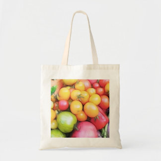 Harvest Time - Tomatoes! Budget Tote Bag