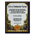 Harvest Vintage Halloween Invitation