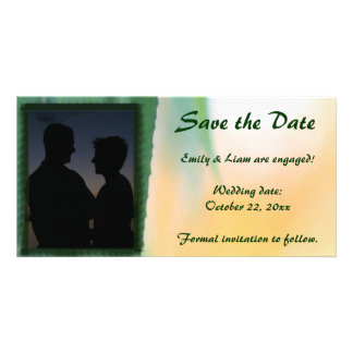 Harvest Willow SAVE THE DATE Photo Card