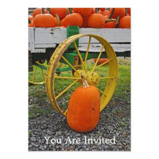 Harvest, You Are Invited 13 Cm X 18 Cm Invitation Card