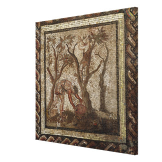 Harvesting Grapes, from Saint-Romain-en-Gal Canvas Print