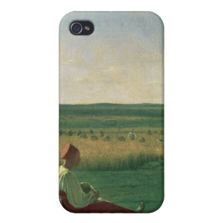 Harvesting in Summer, 1820s Case For The iPhone 4