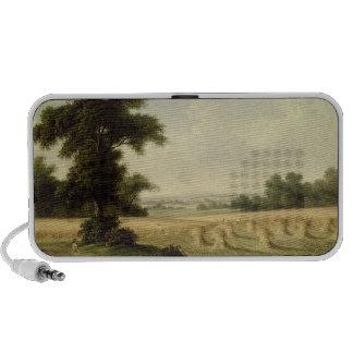 Harvesting (oil on canvas) speakers