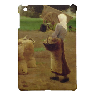 Harvesting Potatoes iPad Mini Cover