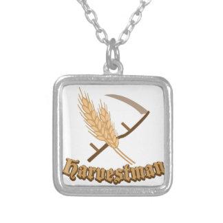 Harvestman Square Pendant Necklace