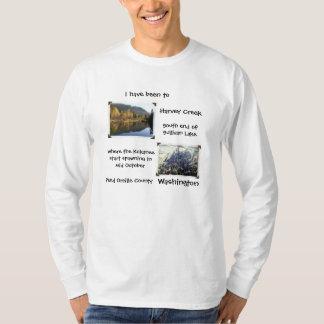 Harvey Creek Kokanee white long sleeved Shirt