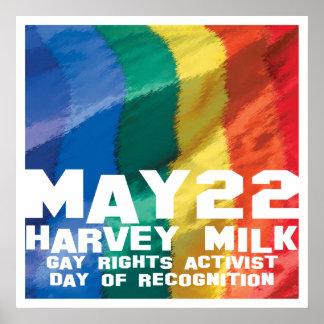 Harvey Milk Day May 22 Poster