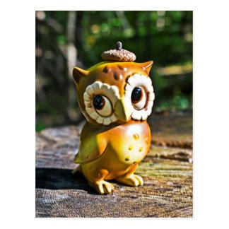 Harvey the Owl III Postcard