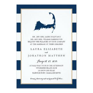 Harwich Cape Cod Map with heart | Wedding Card
