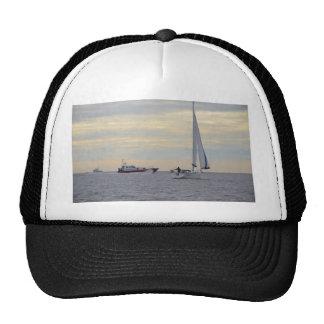 Harwich Haven Pilot Boat At Sea Mesh Hat