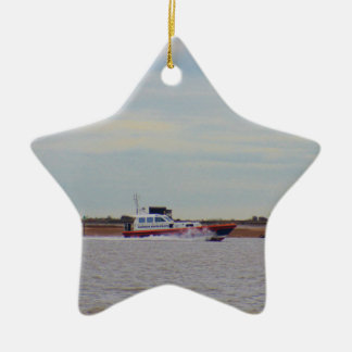 Harwich Haven Pilot Boat Ceramic Star Decoration