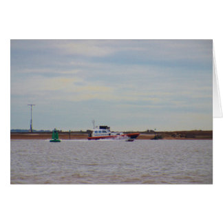 Harwich Haven Pilot Boat Greeting Card