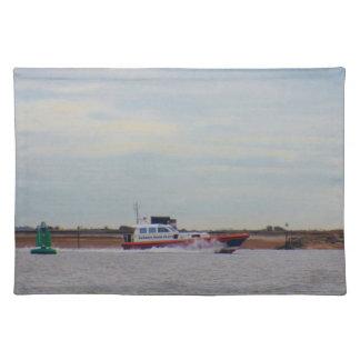 Harwich Haven Pilot Boat Cloth Placemat