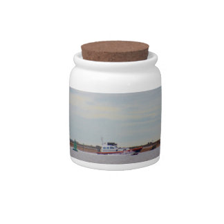 Harwich Haven Pilot Boat Candy Jars