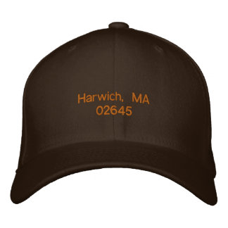 Harwich, MA 02645 - ballcap Embroidered Hats