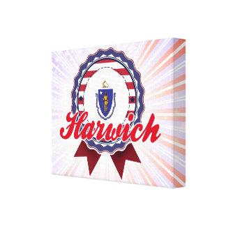 Harwich MA Stretched Canvas Print