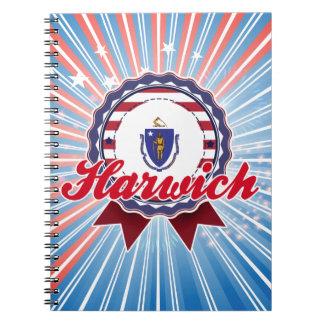 Harwich MA Spiral Notebook