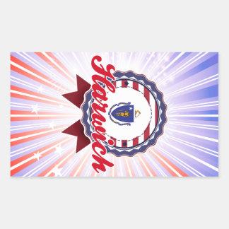 Harwich MA Rectangular Stickers