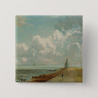 Harwich, The Low Lighthouse and Beacon Hill, c.182 15 Cm Square Badge