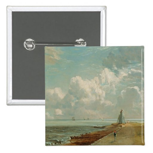 Harwich, The Low Lighthouse and Beacon Hill, c.182 Pinback Button