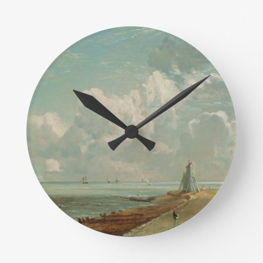 Harwich, The Low Lighthouse and Beacon Hill, c.182 Wall Clocks