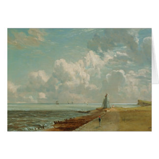 Harwich, The Low Lighthouse and Beacon Hill, c.182 Greeting Card