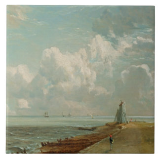 Harwich, The Low Lighthouse and Beacon Hill, c.182 Large Square Tile