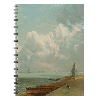 Harwich The Low Lighthouse and Beacon Hill c 182 Spiral Notebook