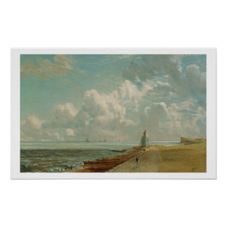 Harwich, The Low Lighthouse and Beacon Hill, c.182 Poster