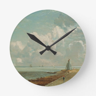 Harwich, The Low Lighthouse and Beacon Hill, c.182 Round Clock