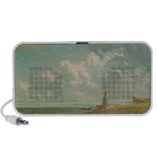 Harwich The Low Lighthouse and Beacon Hill c 182 Laptop Speakers