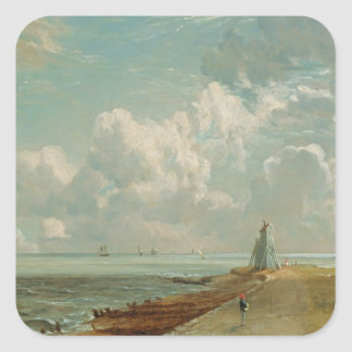 Harwich, The Low Lighthouse and Beacon Hill, c.182 Square Sticker
