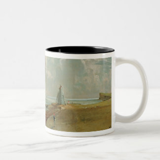 Harwich, The Low Lighthouse and Beacon Hill, c.182 Two-Tone Coffee Mug