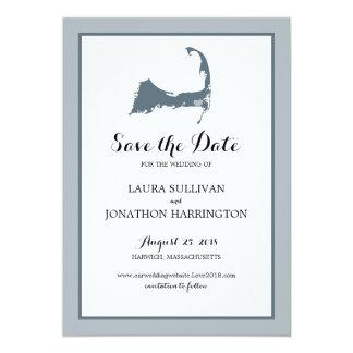 Harwich Wequassett Cape Cod | Wedding 13 Cm X 18 Cm Invitation Card