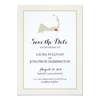 Harwich Wequassett Cape Cod | Wedding Card