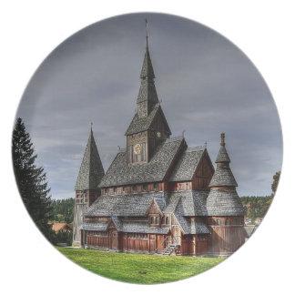 Harzer church as melamine plates