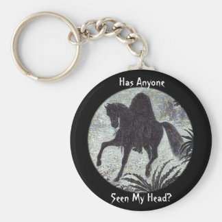 Has Anyone Seen My Head? Keychain Basic Round Button Keychain