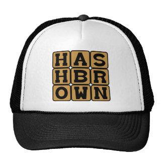 Hash Brown, Potato Breakfast Treat Cap