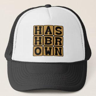 Hash Brown, Potato Breakfast Treat Trucker Hat