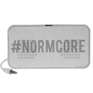 hash tag normcore, word art, text design laptop speakers