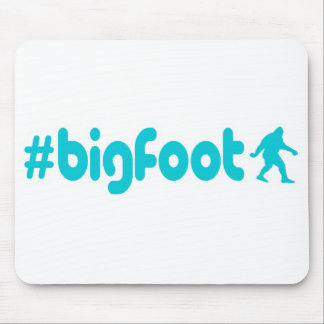 Hashtag Bigfoot Mouse Pad