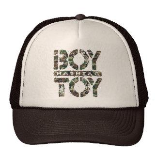 Hashtag BOY TOY - A Lover For Social Sharing, Camo Cap