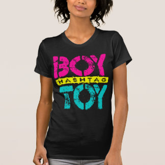 Hashtag BOY TOY - A Lover For Social Sharing, Neon T-Shirt