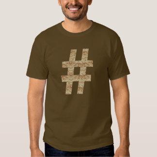 Hashtag Camouflage Shirt