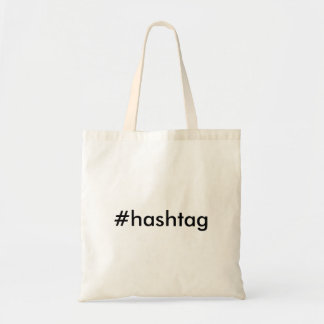 #hashtag carrying bag