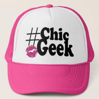 Hashtag Chic Geek Kiss Art Gifts Trucker Hat