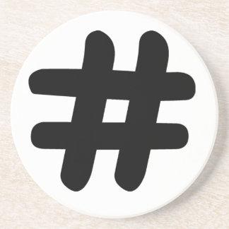 Hashtag Coaster