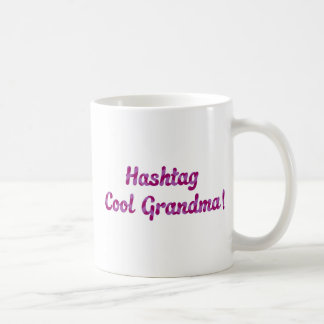 Hashtag Cool Grandma Coffee Mug