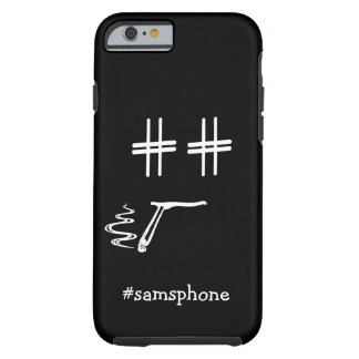 # Hashtag Dude ANY COLOR Personalized Social Media Tough iPhone 6 Case