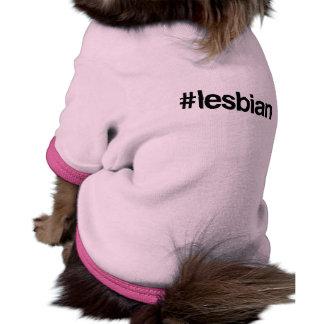 HASHTAG LESBIAN -.png Dog T-shirt
